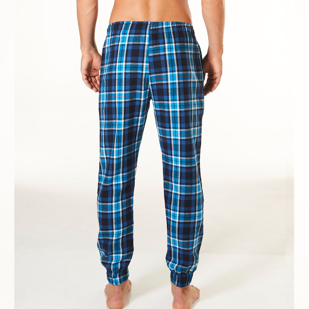 Men's Slim Leg Flannel Pyjama Pants