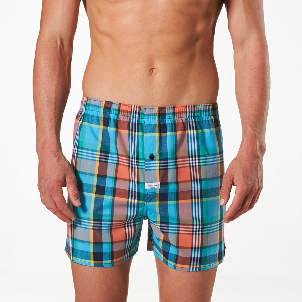 Men's Cotton Stretch Boxer Shorts