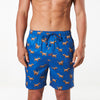 Men's Scrappy Dogs Printed Pyjama Shorts