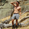 Men's Loose Fit Knit Boxer Short - Charcoal Marle