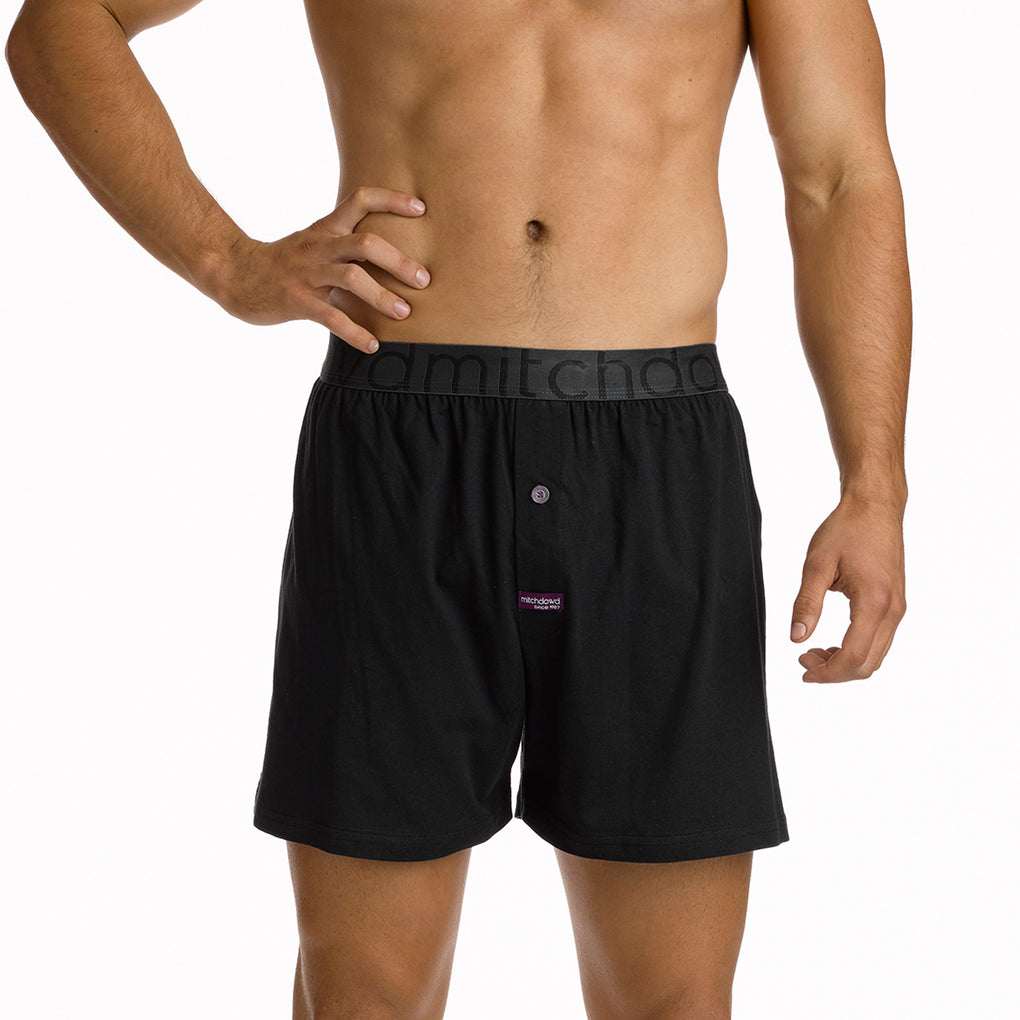 Men's Loose Fit Knit Boxer
