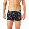 Men's Rusty Monkey Printed Bamboo Trunk