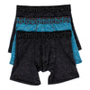 Men's Active Long Leg Trunks 3 Pack