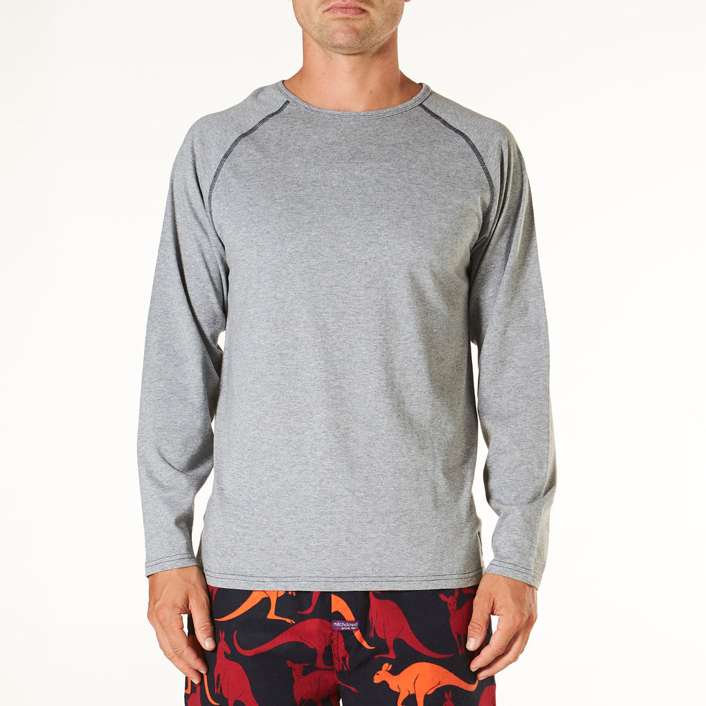 Men's Long Sleeve Pyjama Tee