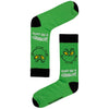 Men's Dr Seuss Don't be a Grinch Crew Socks