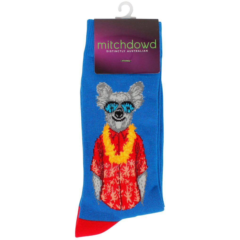Men's Dressed Up Down Under Koala Socks