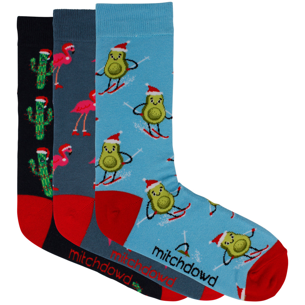 Men's Fun Christmas Gift Box Socks