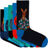 Men's Dressed Up Down Under 5 Pack Socks