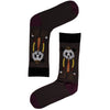 Men's Dapper Panda Jacquard Crew Socks
