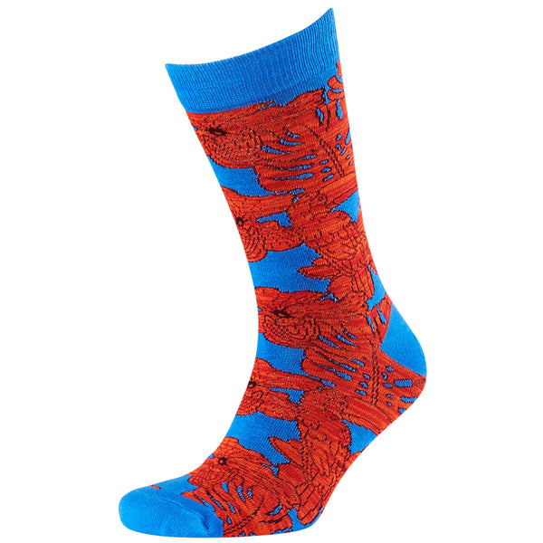 Men's Twisted Toucans Jacquard Crew Socks