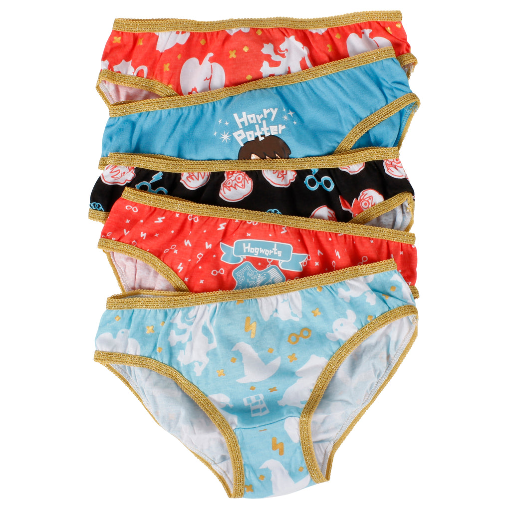 Girl's Harry Potter Briefs 5 Pack