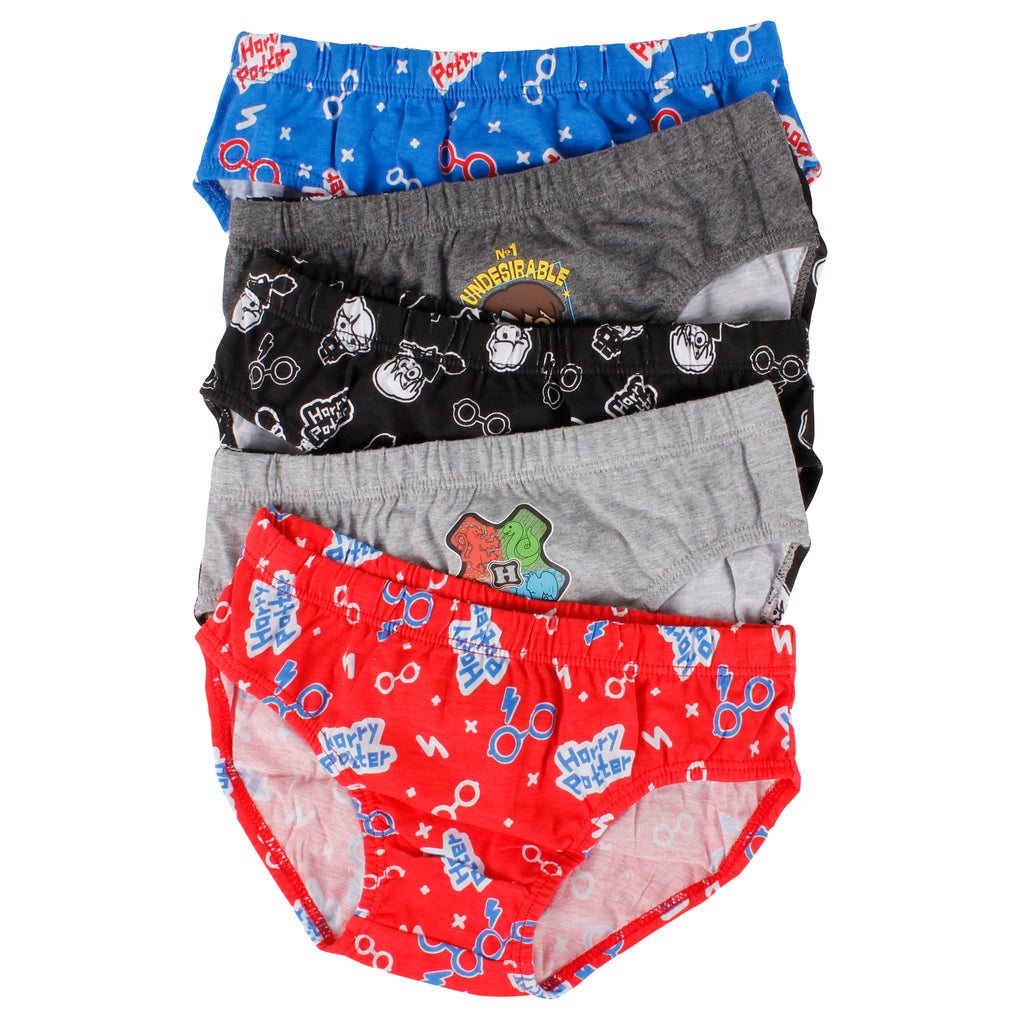 Boy's Harry Potter Briefs 5 Pack