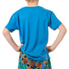Boy's Crew Neck Short Sleeve Cotton Pyjama T-Shirt