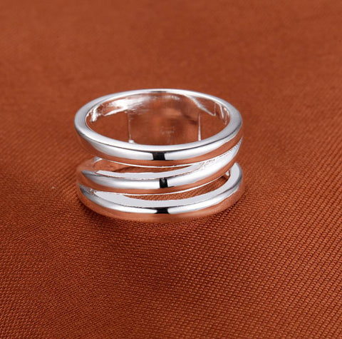 925 Silver Plated Fashion Ring for Women