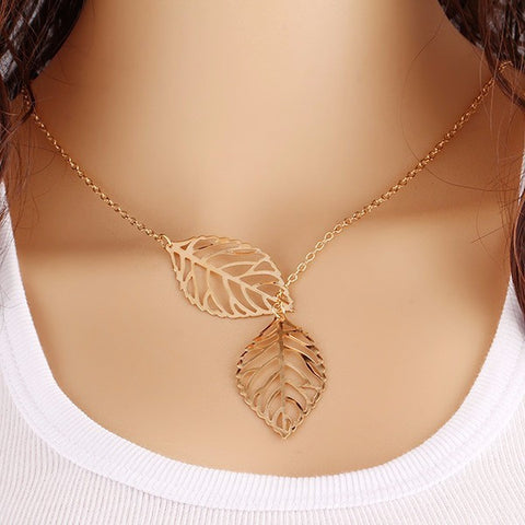 Vintage Leaf Hollow Dangle Drop Earrings Charm for Women