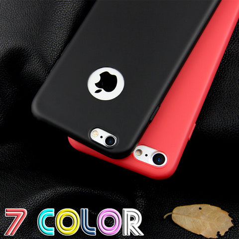 Candy Colors Soft TPU Silicon Phone Cases For iPhone