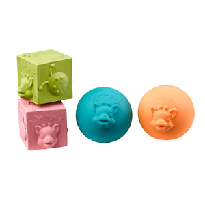Sophie la girafe So'Pure Balls & Cubes Set