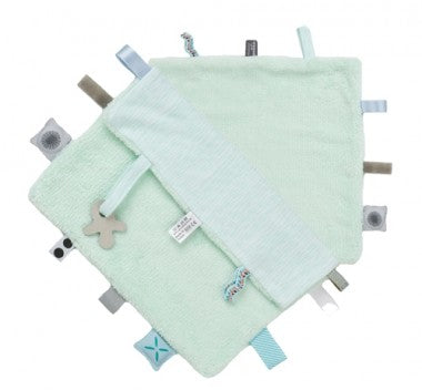 Snoozebaby - Sweet Dreaming Cuddle Cloth - Misty Green