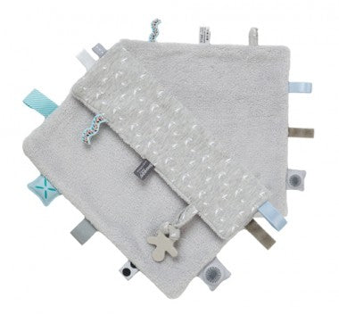 Snoozebaby - Sweet Dreaming Cuddle Cloth - Lovely Grey