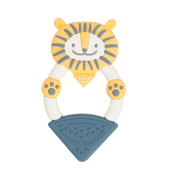 Cheeky Chompers Teether - Bertie the Lion