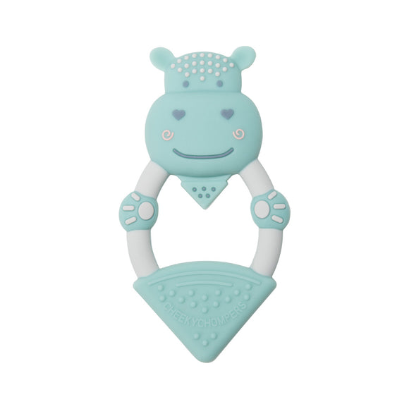 Cheeky Chompers Teether - Chewy the Hippo