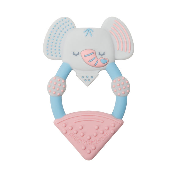 Cheeky Chompers Teether - Darcy the Elephant