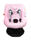 Snoozebaby - Carseat Cover - Powder Pink