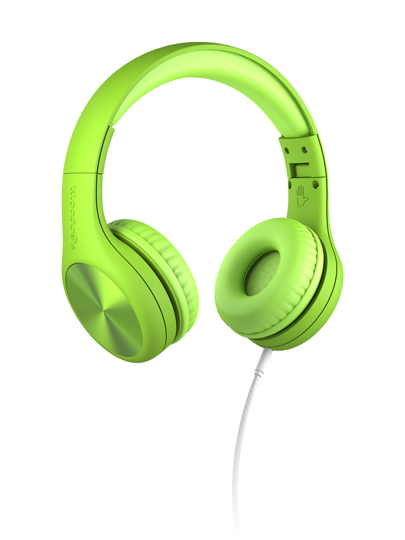 LilGadgets Connect+ Pro Children Wired Headphones - Green
