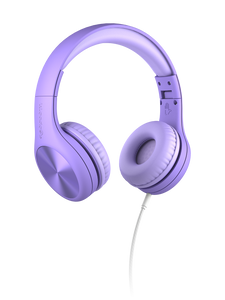 LilGadgets Connect+ Pro Children Wired Headphones - Purple