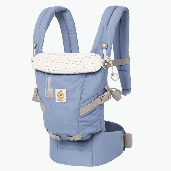 Ergobaby - 3 Position Adapt Carrier - Sophie la girafe Edition