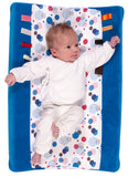 Snoozebaby - Happy Dressing Changing Mat Cover - Happy Days (Organic Cotton)