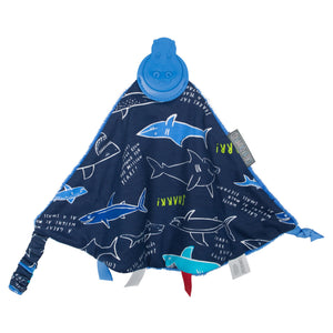 Comfortchew Comforter - Sharks (Exclusive Print by Joules)