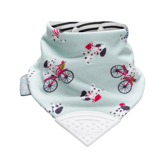 Neckerchew Teething Bib - Parisian Pups