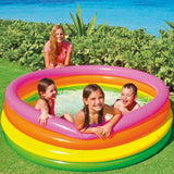 INTEX Sunset 4-ring Inflatable Pool (165cm x 45cm)