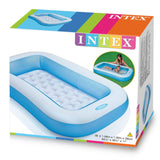 INTEX Inflatable Rectangular Pool (1.66m x 1m)
