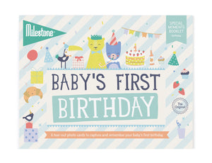 Milestone - Baby's First Birthday