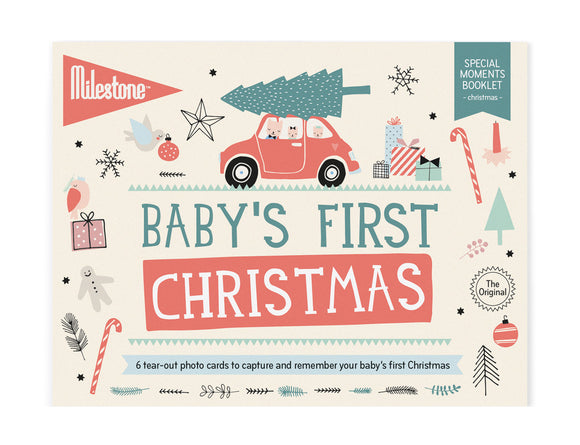 Milestone - Baby's First Christmas