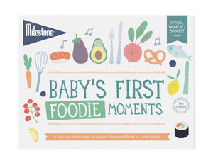 Milestone - Baby's First Foodie Moments