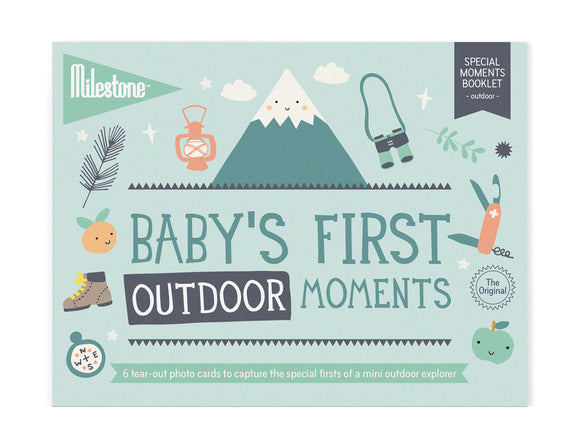 Milestone - Baby's First Outdoor Moments
