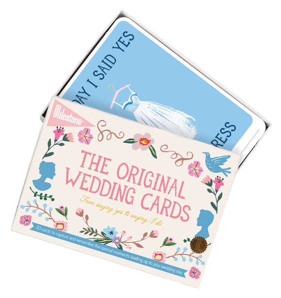 Milestone Wedding Photo Cards