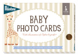 Milestone Baby Photo Cards - Sophie la girafe