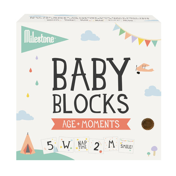 Milestone - Baby Age + Moments Blocks