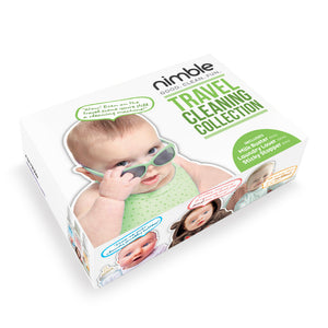 Nimble Babies Travel Cleaning collection