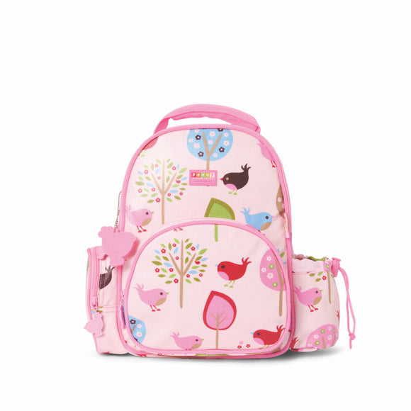 Penny Scallan Design - Medium Backpack - Chirpy Bird