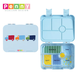 Penny Scallan Design 6-Compartment Large Bento Box - Big City