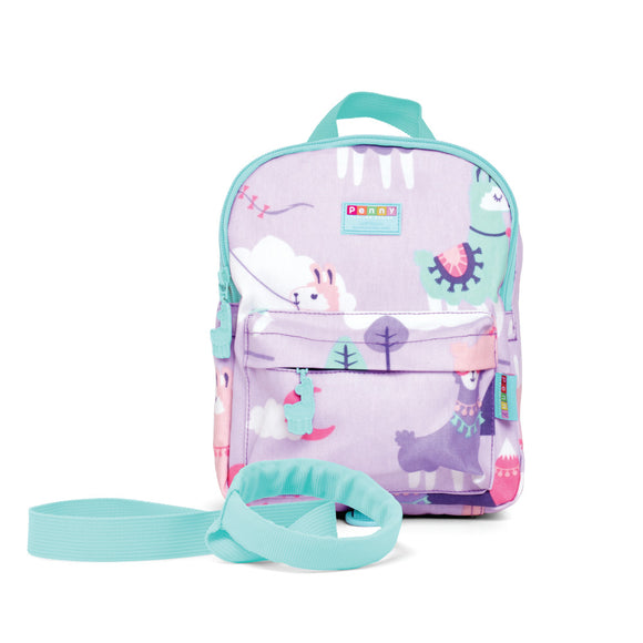 Penny Scallan Design - Mini Backpack School with Rein - Loopy Llama