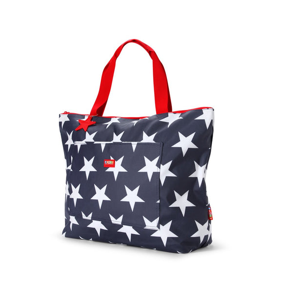 Penny Scallan Design Tote Bag - Navy Star