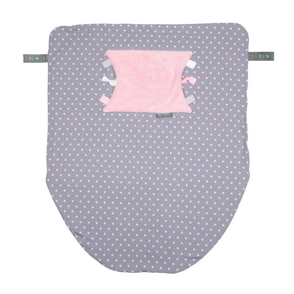 Cheeky Blanket - Polka Dot Pink
