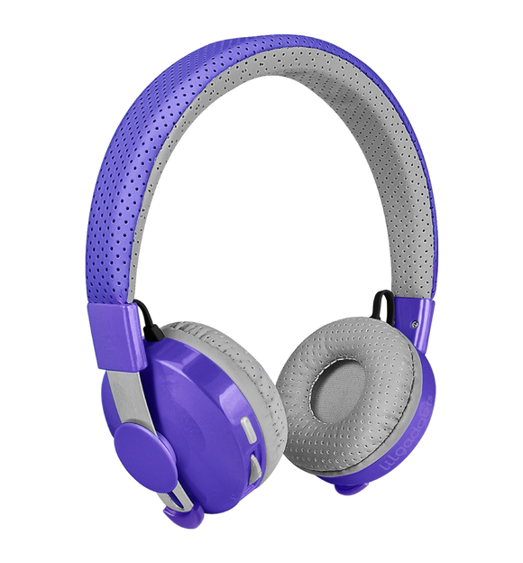 LilGadgets Untangled Pro Children Bluetooth Headphones - Purple