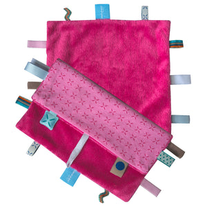 Snoozebaby - Sweet Dreaming Cuddle Cloth - Funky Pink